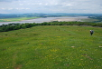 Panorama north from Arnside Knott