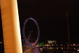 London Eye from Golden Jubilee Bridge