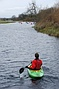 Kayak trip on River Great Ouse