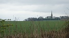 View to Laughton Church