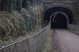 Entrance to old railway tunnel